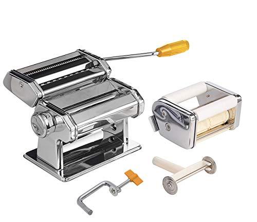 Nudelmaschine 3 in 1 Raviolimaschine Spaghetti Ravioli Nudeln MAESTRO MR-1679-R