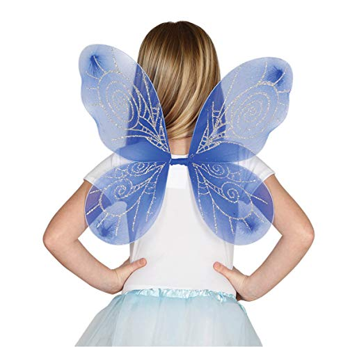 Guirca Feen oder Schmetterling Flügel für Kinder Karneval Fasching Party Fee Elfe Märchen