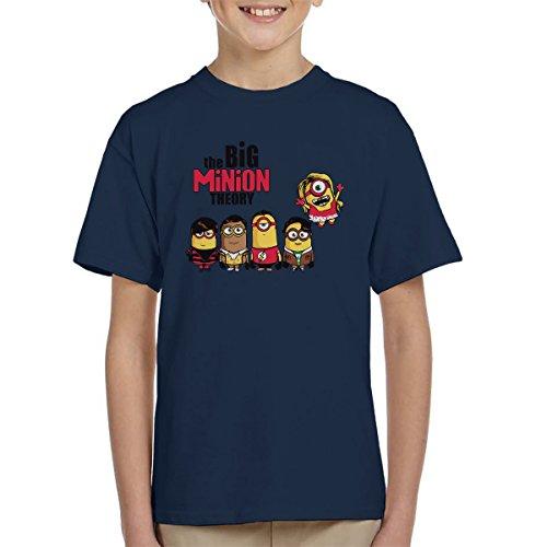 The Big Bang Minion Theory Kid's T-Shirt