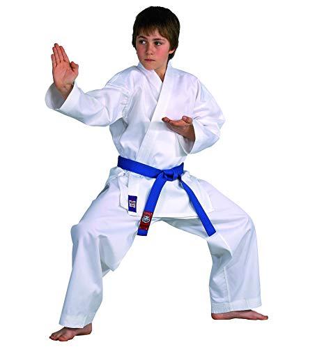 Karateanzug Dojo Line von DANRHO, weiß, 229049, Gr.150