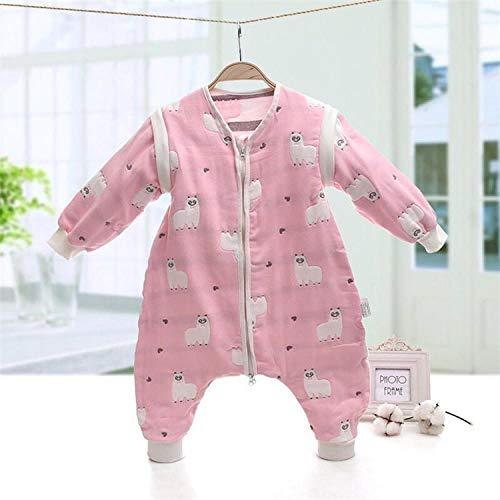Unisex-baby-inbakerdekens, baby-slaapzak van zes lagen gaas, klimpak voor kinderen-vrouwelijke schat_50 bij 90, pasgeboren baby dikke warme slaapzak