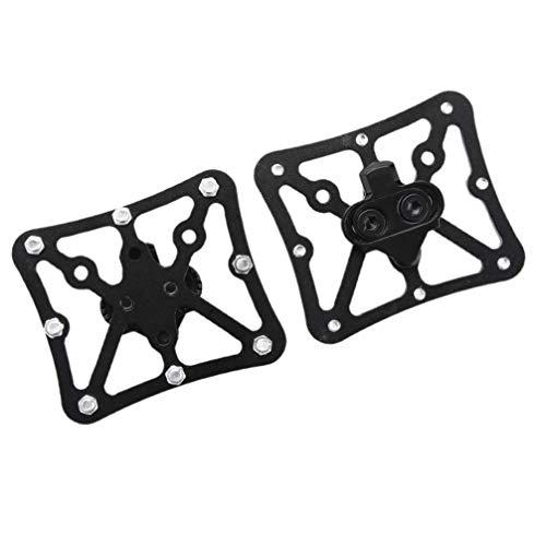 CLISPEED 1 par de adaptadores para pedales de bicicleta, adaptadores para pedales Clipless Bicyle, adaptadores para pedales de bicicleta para taquetas Spd
