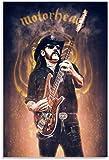 Poster und gedruckte 60x90cm Lemmy Motorhead dekoratives