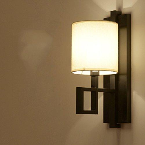 Applique murale Chambre à couloir salon rétro Nouvelle lampe murale chinoise ( couleur : Noir )