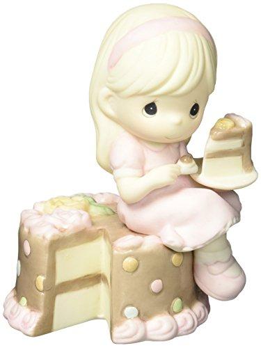 """Moments précieux Montage cadeaux d'anniversaire, """"avoir votre Beurre et l'argent trop"""", Bisque Porcelaine figurine"""