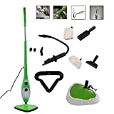 H2O Mop X5 - Scopa a vapore, portatile, 5 in 1, multiuso, leggerissima COME QUELLA VISTA IN TV