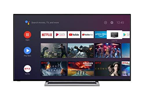 TOSHIBA 65UA3A63DG TV 4K UHD - 65 (164 cm) - 4K HDR - AndroidTV - Google Assistant - 4xHDMI - 2xUSB - Clase energética A+