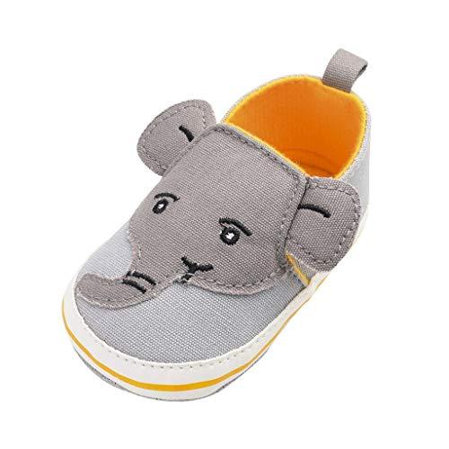 Reasoncool Jungen Mädchen Sandals Neugeborene Baby Elefant Karikatur rutschfeste Erste Wanderer Weiche Sohle Schuhe