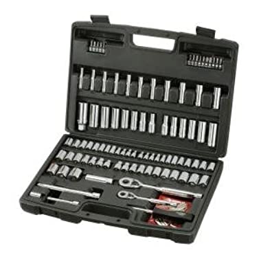 Husky 100-Piece 1/4 in. and 3/8 in. Drive Mechanics Tools Set