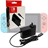 Generic AC Adapter Power Supply for Nintendo Switch Wall & Travel Charger (USA) (Renewed)