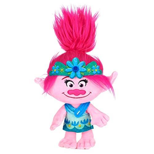 Posh Paws Trolls World Tour Amapola 10' de Juguete de Felpa
