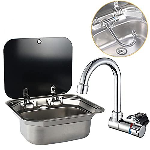 DALUOBO Einzelne Schüssel RV Hand Wash...