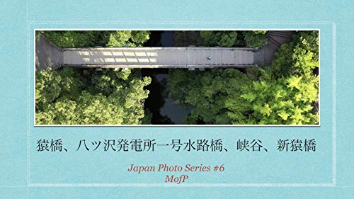 saruhashi bridge photo drone: suiro japan beautiful photo (mofp books) (Japanese Edition)