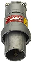 Appleton ACP3034BC Metallic Clamping Ring Plug, 30 Amp, 4 Pole, 3 Wire