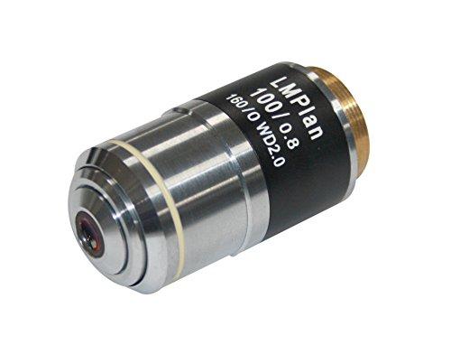 Radical LWD largo trabajo M Plan 100x seco material ciencia microscopio objetivo distancia de trabajo 2mm