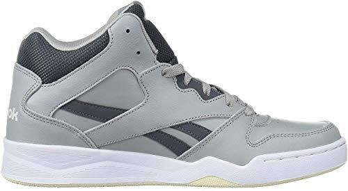 Reebok Men's Royal BB4500 HI2 Sneaker, True Grey/chalk/cream white, 12 M US