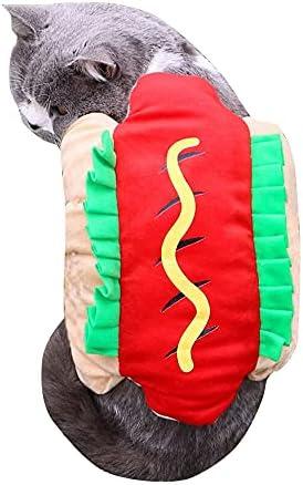 Cat hot dog costume