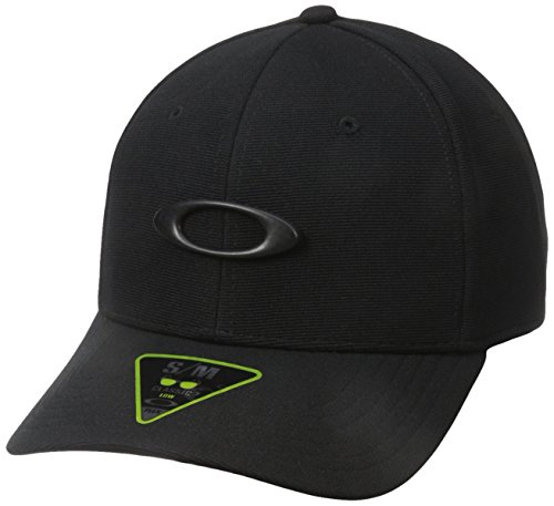 Oakley Men's Tincan Cap, Black/Carbon Fiber, S/M