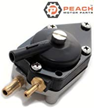 Peach Motor Parts PM-0438555 Fuel Pump, Mechanical; Replaces Johnson Evinrude OMC: 0438555, 438555, 0433386, 433386, Sierra: 18-7353, Mallory: 9-35353 Made by Peach Motor Parts