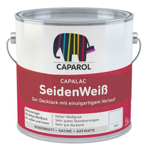 Caparol Capalac Seidenmatt Buntlack 2,5 Liter Weiß