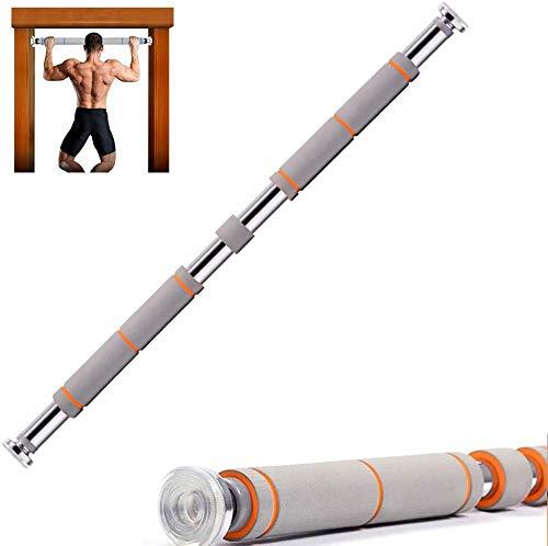 Rishx-lamp Fitnessgeräte für horizontales bar bar Türzarge 60-100 cm / 80-130 cm / 100-150 cm einstellbare teleskopische oberen Hebel 150 kg, 60/100cm