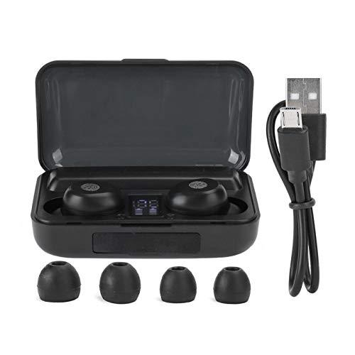 WEILafudong LED Digital Bluetooth auricular binaural verdadero auricular inalámbrico Gaming Headset para el trabajo juego de deportes