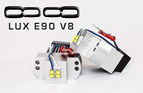 LUX E90 V8, For BMW Angel Eyes