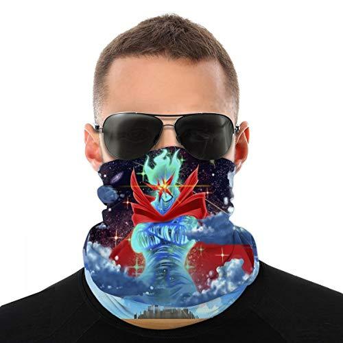 Gurren Lagann Multifunction Bandana Dustproof Bandana for Face Mask White