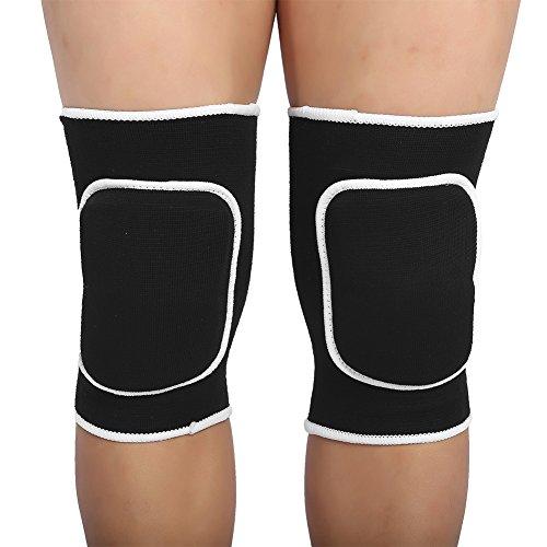 Tihebeyan Unisex Dikke Sponge Beschermende Kniebeschermers, Hoge Elastische Kniebescherming Compressie Knieondersteuning Botsingsvermijding Kniehoes Voor Outdoor Activiteiten Sport