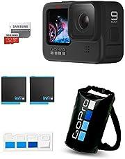 GoPro HERO9 Black + 備用電池 + 認證SD卡 + 干包 + 貼紙 + 貼紙