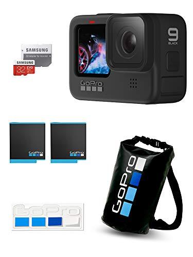 【GoPro公式限定】GoPro HERO9 Black + 予備バッテリー + 認定SDカード + ドライバッグ + ステッカー 【国内正規品】