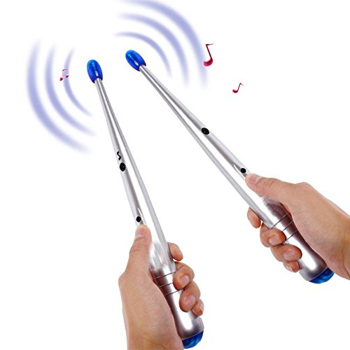 CSwonder Digital Air Drumsticks Musical for Electronic Musical Instrument Trigger Synthesizer