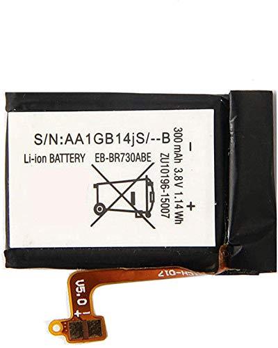 Backupower Ersatz Akku EB-BR730ABE Kompatibel mit Samsung Gear S2 3G SM-R730 SM-R730A SM-R730V SM-R600 SM-R730S SM-R735A R730 R730A R730V R600 R730S R730T