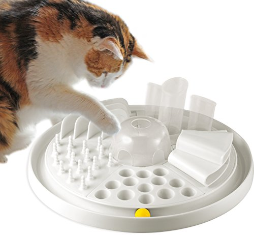 Bayer Design 05005 Edupet Katzenspielzeug Cat Center - intelligentes Futterspiel/Activity Board