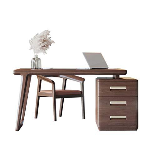 keduoduo Mesa de Escritorio de Escritorio de Escritorio de Escritorio de Escritorio de Solidwood Moderno Minimalista Minimalista Muebles de Almacenamiento Muebles de Almacenamiento,156 * 80 * 76CM