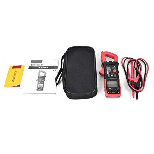 Multímetro digital de mano, medidor de pinza automático digital de mano, multímetro, medidor de amperios, probador de capacitancia CA CC