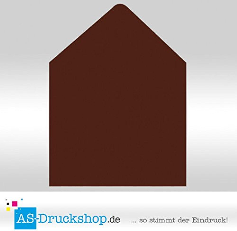 Briefumschlag KuGrün - Braun Quadrat - 160 x x x 160 mm   50 Stück B0794XCBL2 | Lebhaft und liebenswert  3dd75c