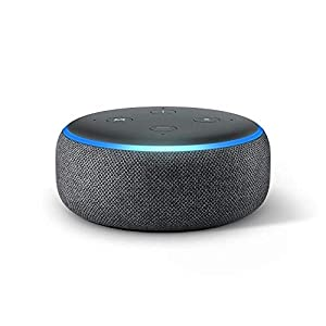 Meet Echo Dot - Our most popular smart speaker with a fabric design. It is our most compact smart speaker that fits perfectly into small spaces. Improved speaker quality - Better speaker quality than Echo Dot Gen 2 for richer and louder sound. Pair w...