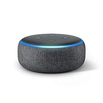 Echo Dot  3rd Gen  - Smart speaker with Alexa - Charcoal