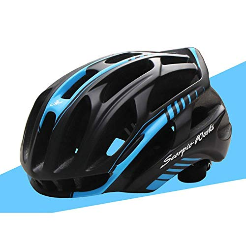 Riding Helmet Bicycle Mountain Bike Helmet Outdoor Riding Equipment Electric Vehicle Helmet (Size : L) JoinBuy.R