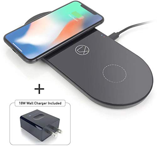Wireless Charging Station 3 in 1 for iPhone 8/x/11 Airpods Galaxy Note S8/9/10/ and All Other Qi...