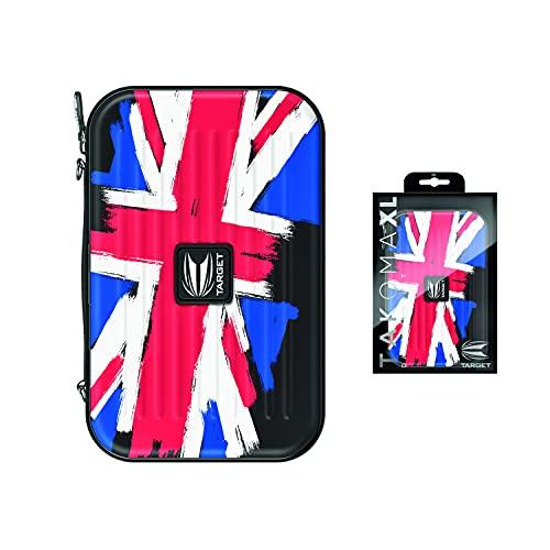 Target Darts Takoma Flag Design Dart Tasche, Großbritannien Flagge, Regulär-1 Set