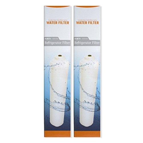 2 x Microfilter DA2010CB - waterfilter voor Samsung koelkasten DA29-10105J - HAFEX/EXP/LG 3890JC2990A