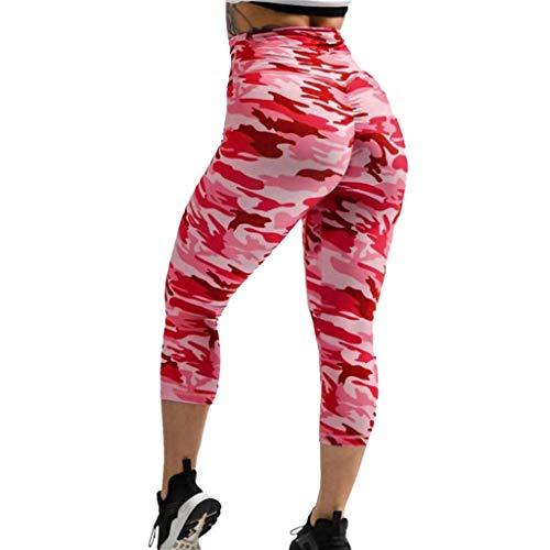 VESNIBA Pantalones cortos de deporte para mujer, cintura alta, opacos, pantalones cortos de ciclismo, pantalones de correr, yoga, mallas para mujer, deporte, entrenamiento, gimnasio, fitness, yoga