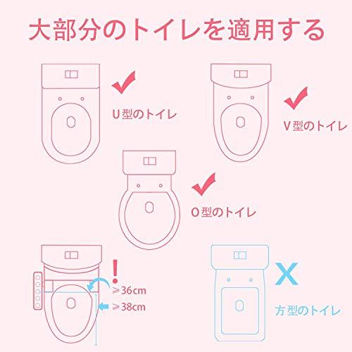 GROWTHPIC GrowthPic トイレトレーナー おまる オマル 折りたたみ トイレ用 補助便座 トイレ 取外し可能 子供 ベビー 踏み台 ステップ式 トイレトレーニング ピンク