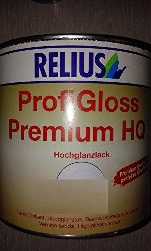 Relius für ProfiGloss Premium HQ , weiß / 2,5 L / hochglänzend