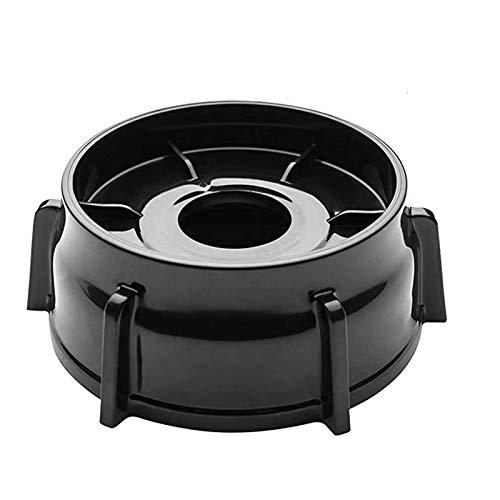Basage 1Pcs 4902-003 Blender Jar Bottom for Oster and Osterizer Blenders, Premium Oster Blender Replacement Parts (Black)