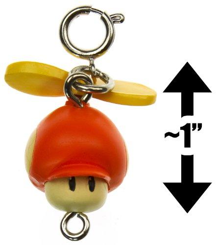 New Super Mario Bros Wii Zipper Pull-Charm Series-1\