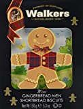 Walkers Mini Shortbread Gingerbread Men,3D, 1er Pack (1 x 150 g)
