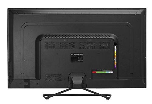 Sceptre U508CV-UMK 49 Inch 4K Ultra HD LED TV 3840x2160 HDMI 2.0 HDCP 2.2 Fine Black 2017